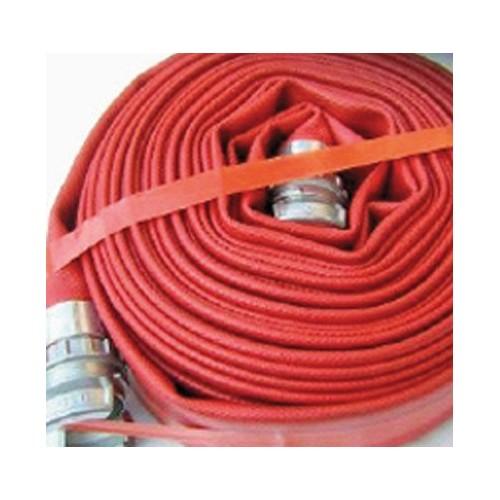 Tuyau Pompier lutte incendie ∅ 90mm - 2x20m équipé raccord + collier