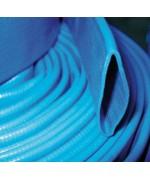Tuyau plat bleu PVC enroulable 150 - 25m