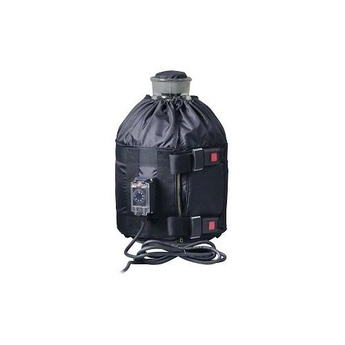 Réchauffeurs pour bidons en plastique 23L / 140w 220-240 VAC avec thermostat électronique à cadran