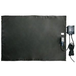 Bâche chauffante plate et souple 0-125°C - 1000x1500mm /1500w avec regulateur digital