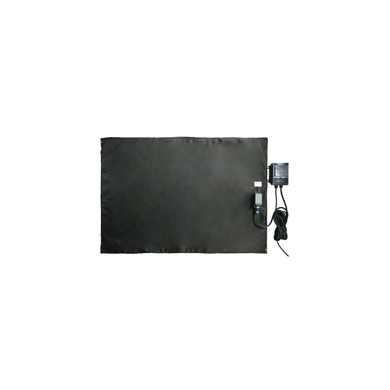 Bâche chauffante plate et souple 0-125°C - 1000x3000mm /3000w avec regulateur digital