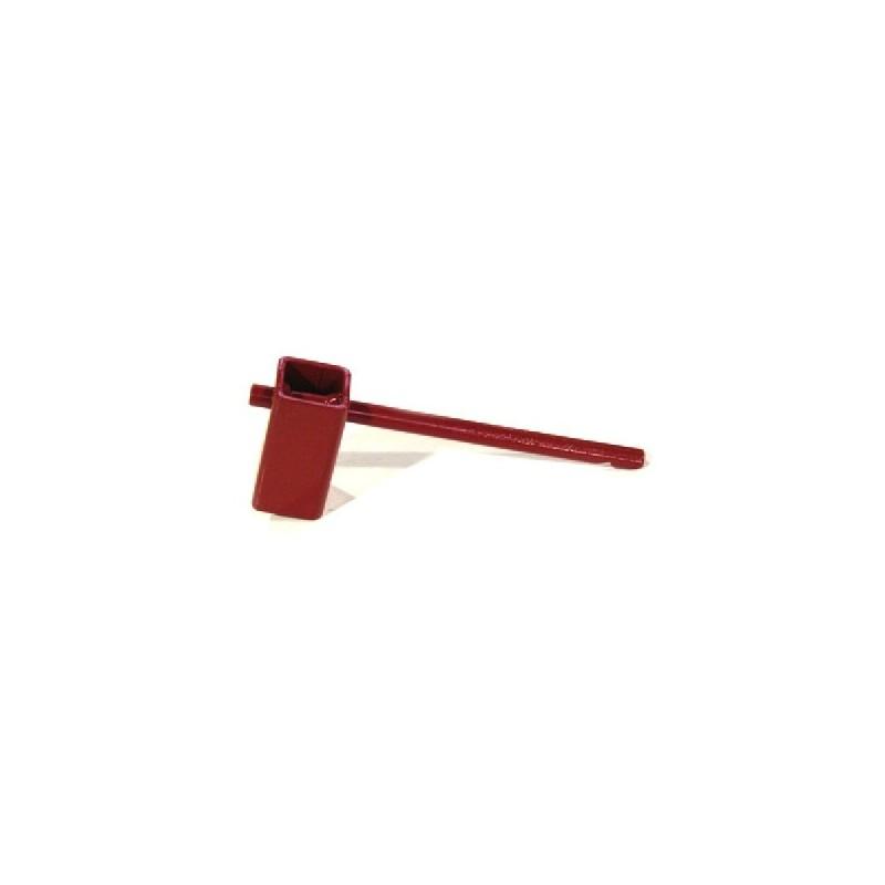 clef de poteau incendie acier carré 32x32