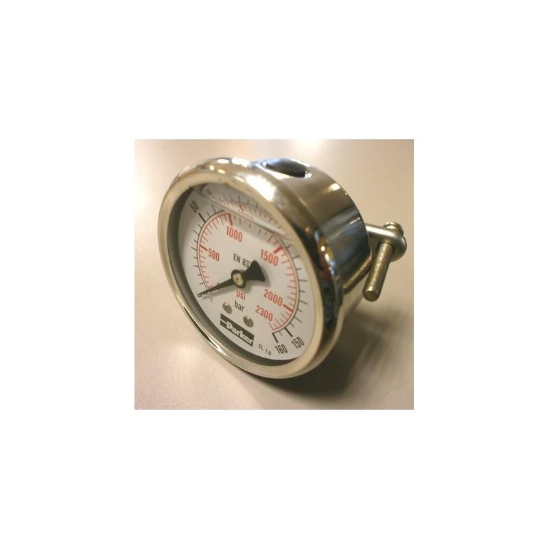manomètre PARKER PGC 063 à aiguille horizontal
