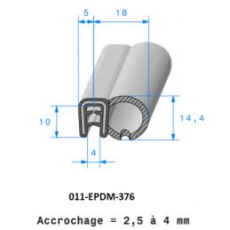 Tuyau arrosage PVC jaune 25mm - 25m pour arrosage