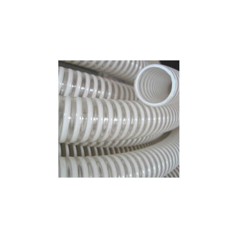 Le tuyau PVC transparent spire PVC alimentaire 35 - 25M