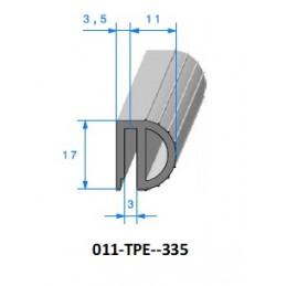 Gaine polyurethane spiralée alimentaire 38 - 10M