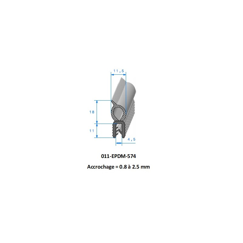 Gaine polyurethane spiralée alimentaire 45 - 10M