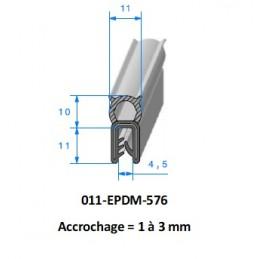 Gaine polyurethane spiralée alimentaire 100 - 10M