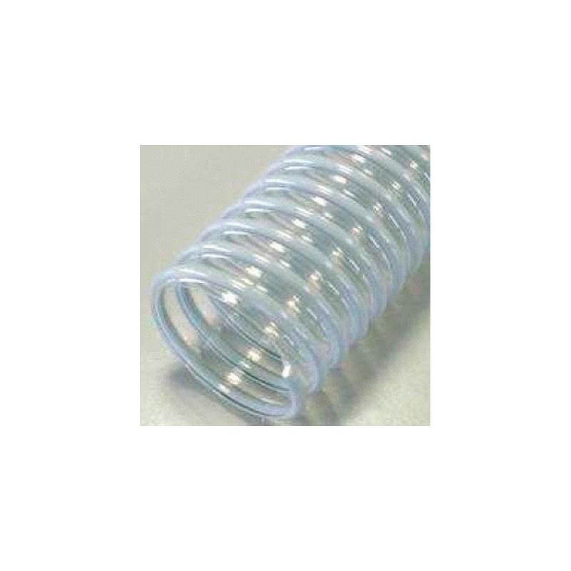 Gaine polyurethane spiralée alimentaire 180 - 10M