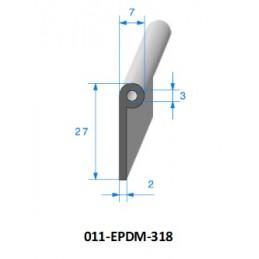 Gaine polyurethane spiralée alimentaire 200 - 10M