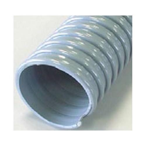 Gaine PVC spirale PVC grise 60 - 25M