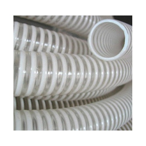 Tuyau PVC transparent spire PVC alimentaire 45 - 25M