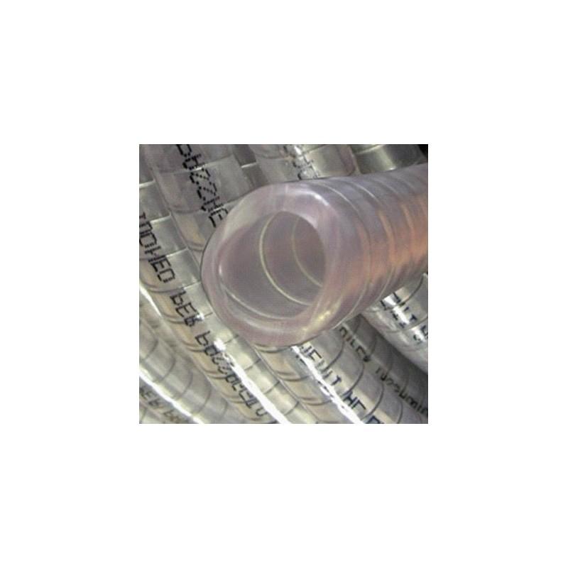 Tuyau PVC spire acier alimentaire 12 - 10m