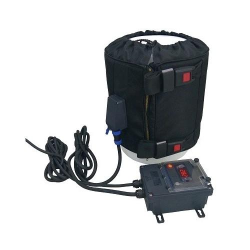 Réchauffeur pour fûts 220-240 VAC - 20L / 150w avec Thermostat électronique à cadran fixé