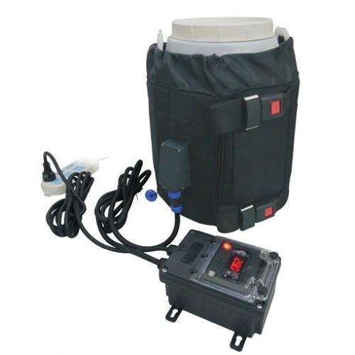 Réchauffeur pour fûts 220-240 VAC - 30L / 150w avec Thermostat électronique à cadran fixé