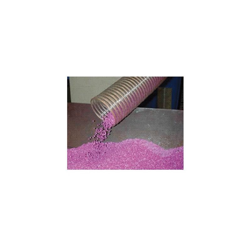 Gaine polyuréthane spiralée acier cuivrée 140 - 10M