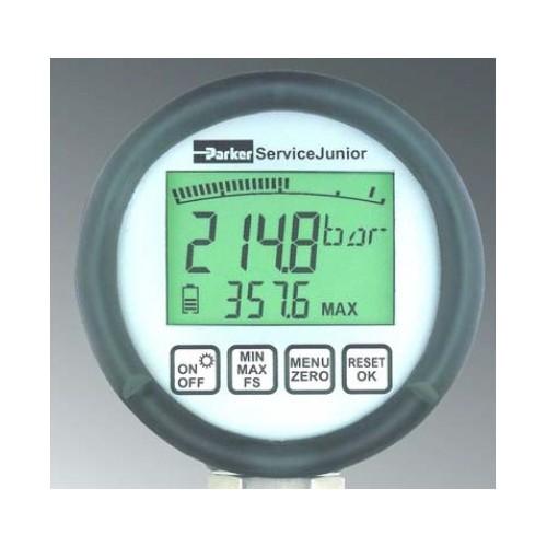 Manomètre hydraulique électronique et digital PARKER SCJN-600-01 600 Bar