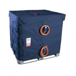Housse chauffante 1300W 230V 1ph pour container 1000L