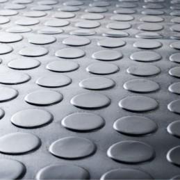 Tapis - feuille caoutchouc pastille