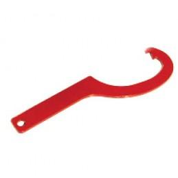 Clef tricoise acier 20/120 acier peint rouge