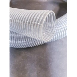 Gaine polyurethane spiralée alimentaire
