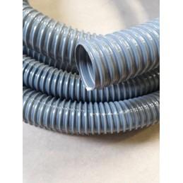Gaine PVC spirale PVC grise