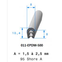 Profil 500 - Joint profilé en EPDM bi-dureté