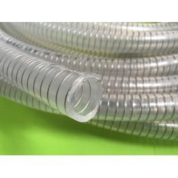 Tuyau TPE spirale inox Pharmasteel