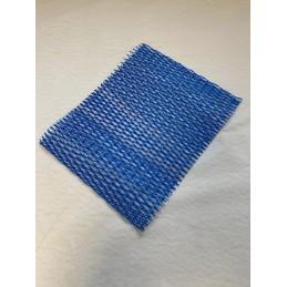 protection raccord bleu
