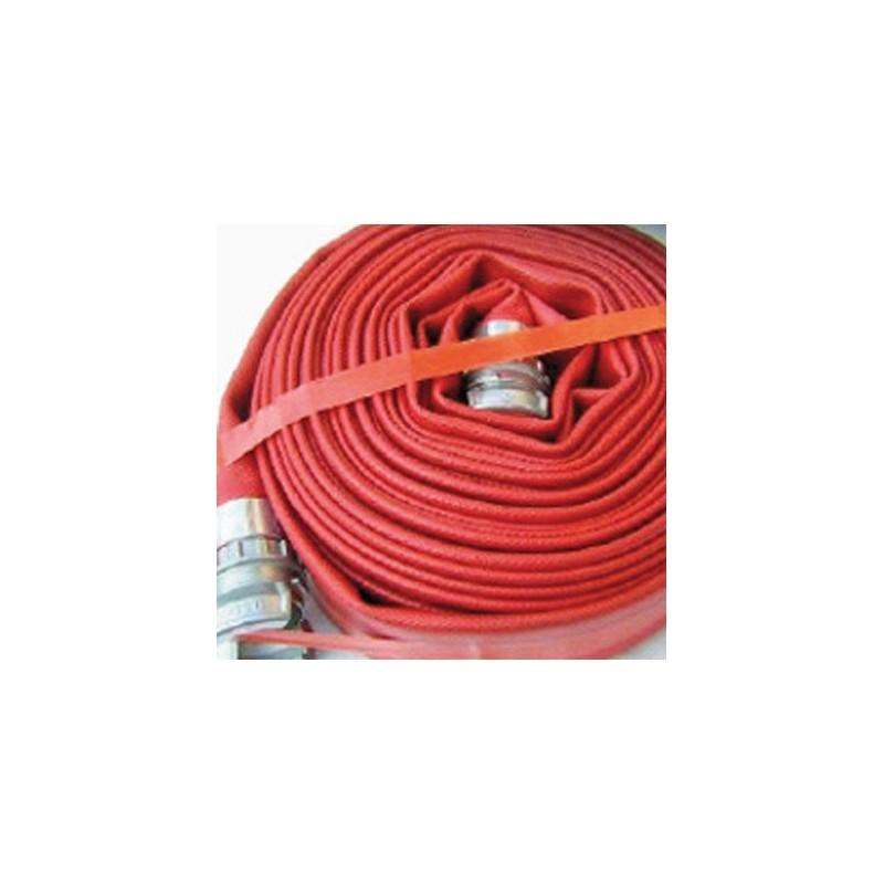 Tuyau aplatissable incendie 90 - 20m (non équipé / nu)