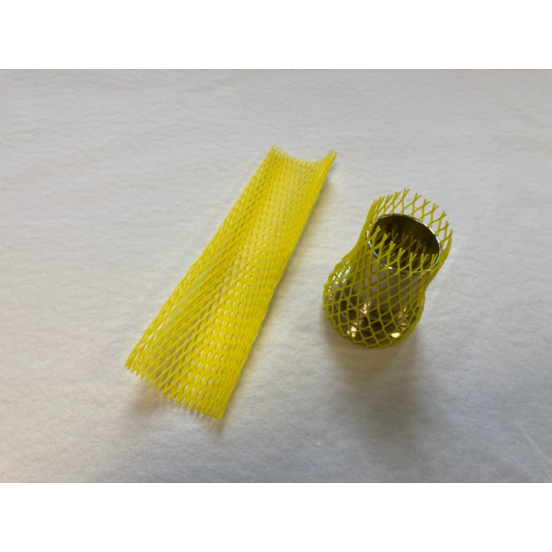 filet de protection couleur jaune pour raccord