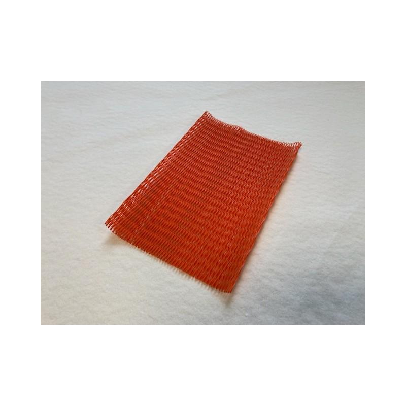 filet orange de protection pièces mécaniques