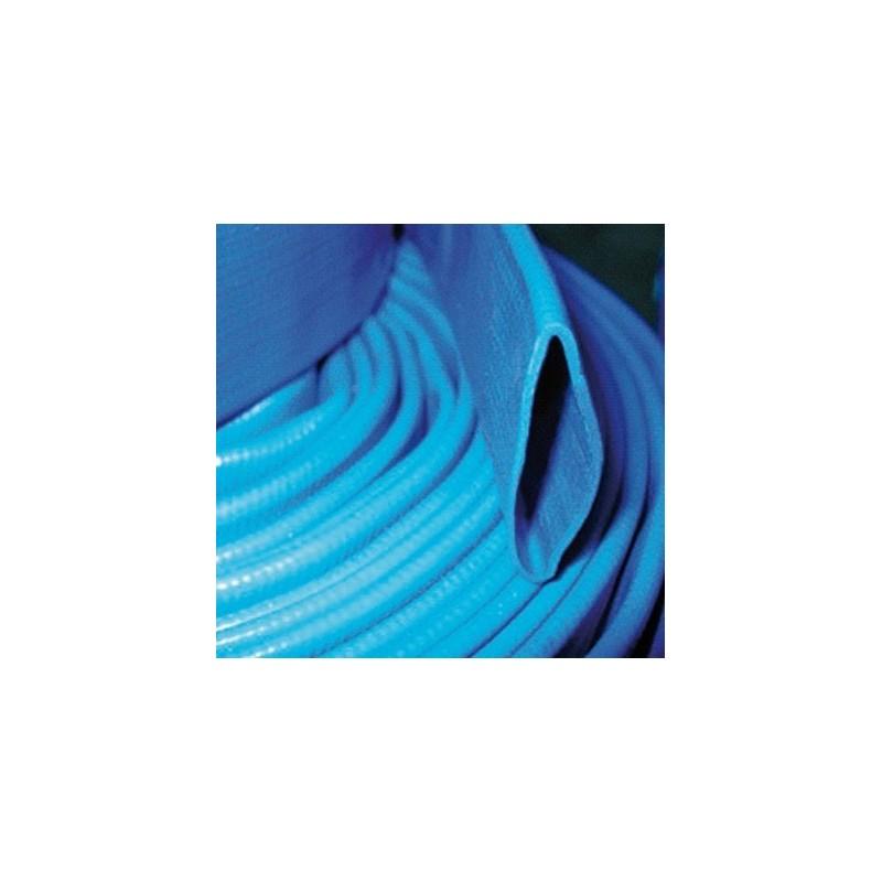 Tuyau plat bleu PVC enroulable 45 - 25m