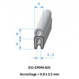 Tuyau PVC spire acier alimentaire 60 - 10m
