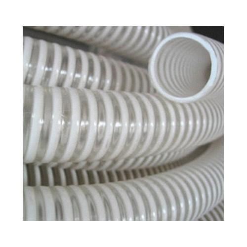 Tuyau PVC transparent spire PVC alimentaire 40 - 25M
