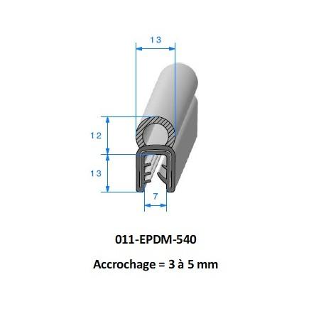 Gaine polyurethane spiralée alimentaire 40 - 10M