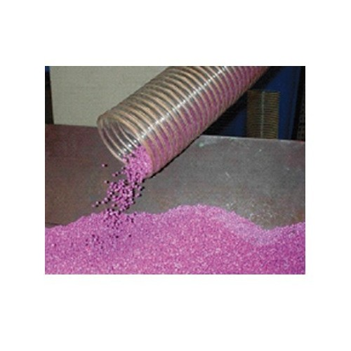 Gaine polyuréthane spiralée acier cuivrée 100 - 10M