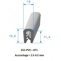 Gaine polyuréthane spiralée acier cuivrée 120 - 10M
