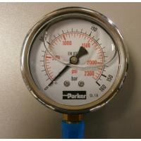 Manomètre à aiguille et Manomètre à hydraulique électronique digital PARKER